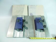 4x 12 Aluminum Platens With Workhorse Hopkins Brackets Attached