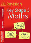 KS3 Maths L5-8: Revision Guide + Workbook + Practice Papers by HarperCollins Publishers (Paperback, 2009)