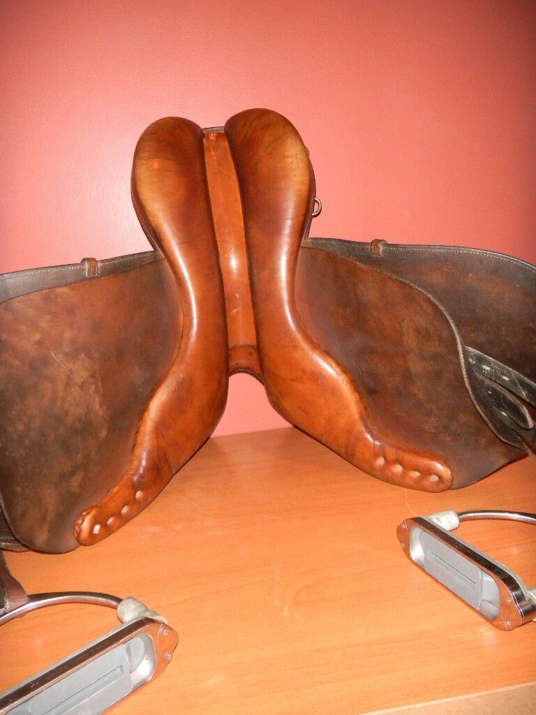 "Classic Saddlery GRAND-PRIX Saddle Saddle Saddle made in England 16"" bdc129"