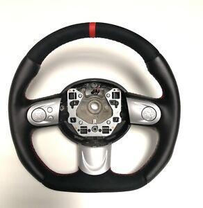 Volante-Mini-Cooper-R55-R56-R57-R58-R59-acantara-D-forma-de-fondo-plano