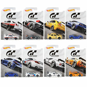 HOT-WHEELS-2017-GRAN-TURISMO-FKF26-SCALA-1-64-Set-8-Assortimento