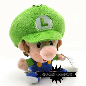 Details About Super Mario Bros Baby Luigi Soft Toy Party Mini Kart Wii U Junior New Plush Jr