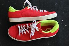 VINTAGE ADIDAS LIMITED EDITION SHOES SIZE US 9.5 UK 9 RED TENNIS TERRY CLOTH ED