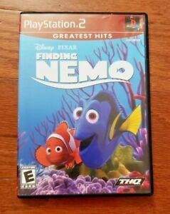 DISNEY PIXAR FINDING NEMO – SONY PLAYSTATION 2 (PS2) VIDEO GAME