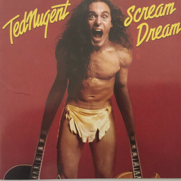 TED NUGENT SCREAM DREAM   CD   2006 ROCK CANDY REMASTER CANDY021