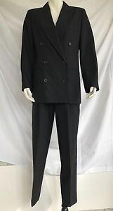 Rationnel Gian Marco Venturi Peinture Noire Costume Taille 6-afficher Le Titre D'origine