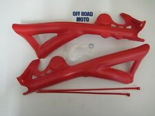 Gas Gas Trials Bike Frame Guards 2011 ON, TOP QUALITY. RED. STOPS WEAR!!