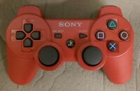 Official Sony playstation ps3 Controller Sixaxis Dualshock 3 Bluetooth RED