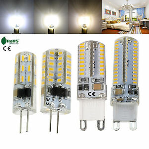3014-SMD-G4-G9-12V-220V-Silicone-Crystal-LED-Corn-Bulb-3W-5W-6W-10W-Light-Lamp
