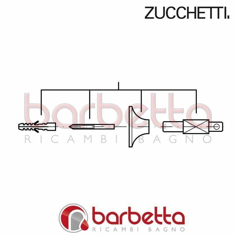 MENSOLA CON COMPLETO DI DI DI FISSAGGIO BELLAGIO ZUCCHETTI R99384 021835