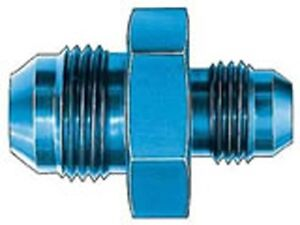 Fuel-Rail-Fitting-EFI-Adapter-6-to-14mm-X-1-5-O-ring-Anodized-Blue