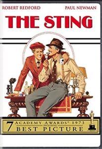 "Super 8 cine película ""The Sting"" partes 1+2 en un 800ft Reel Col/Sonido Newman, Redford"