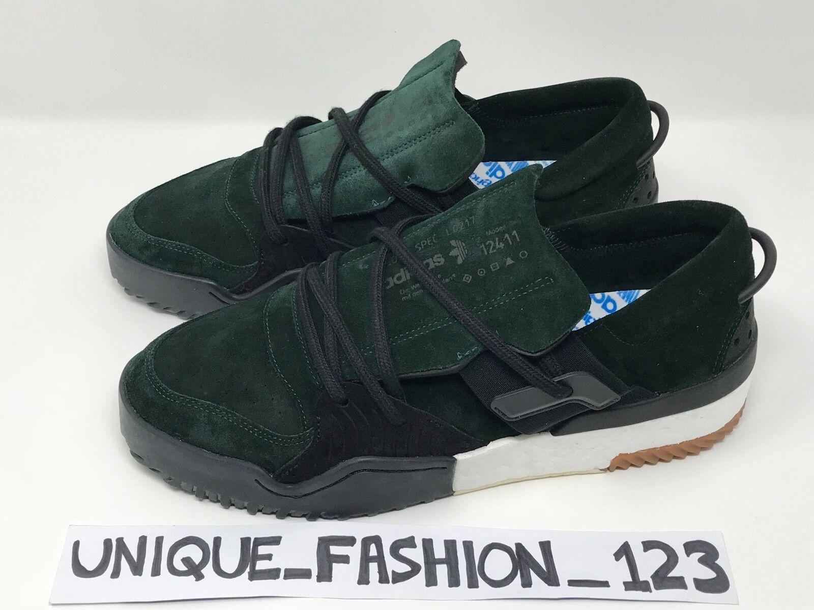 Adidas x verde alexander wang bballname basso verde x scuro luce noi 11,5 nero 63cfeb