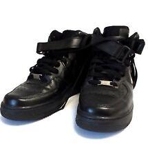 meet af17c 29182 item 3 A Genuine Black NIKE AIR FORCE 1 Mid  07 High Top Trainers Size UK  8 42 -A Genuine Black NIKE AIR FORCE 1 Mid  07 High Top Trainers Size UK  8 42