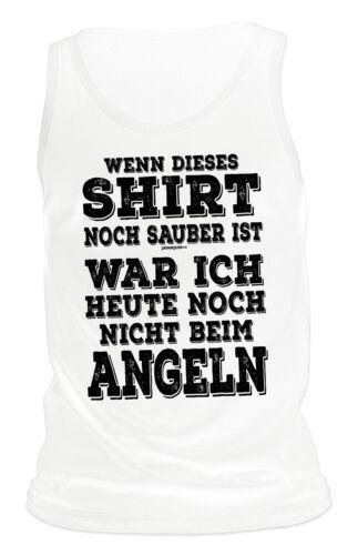 Bekleidung Angelsport Sprüche Träger T-Shirt Angeln Geburtstagsshirt Geburtstag Geschenk Angler Shirt