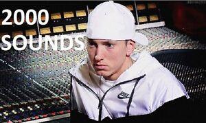 Details about Eminem Drum 2,000 Sounds Kit Samples Rap 808 MPC FL Studio  Logic Mpc Hip Hop Dre