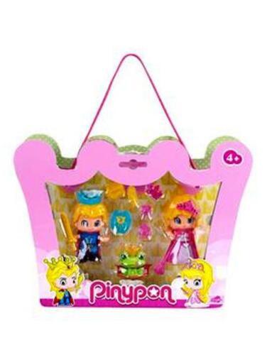 NUOVO Pinypon Principe e Principessa Doll Set-registrati P /& P