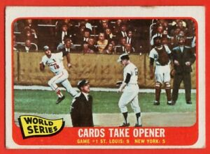 1965-Topps-132-Mike-Shannon-VG-VGEX-St-Louis-Cardinals-Whitey-Ford-NY-Yankees