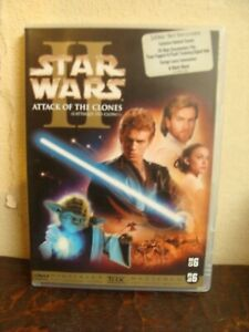 2-DVD-STAR-WARS-II-Attack-of-the-Clones-2002-Francais-Anglais