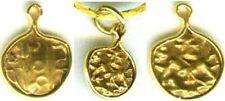 Antique 1800's Mysore India 21kt Gold Fanam Lord Vishnu Avatar Narasimha Lion