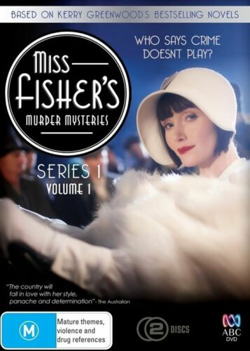 1 of 1 - Miss Fisher's Murder Mysteries : Series 1 : Part 1 (DVD, 2012, 2-Disc Set) (D117