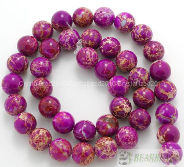 Natural Sea Sediment Jasper Gemstone Round Beads 16'' Strand 6mm 8mm 10mm 12mm