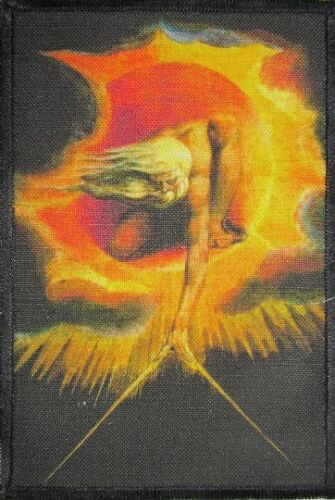 Sew On Printed Patch William Blake 1757-1827 The Creation ANCIENT OF DAYS