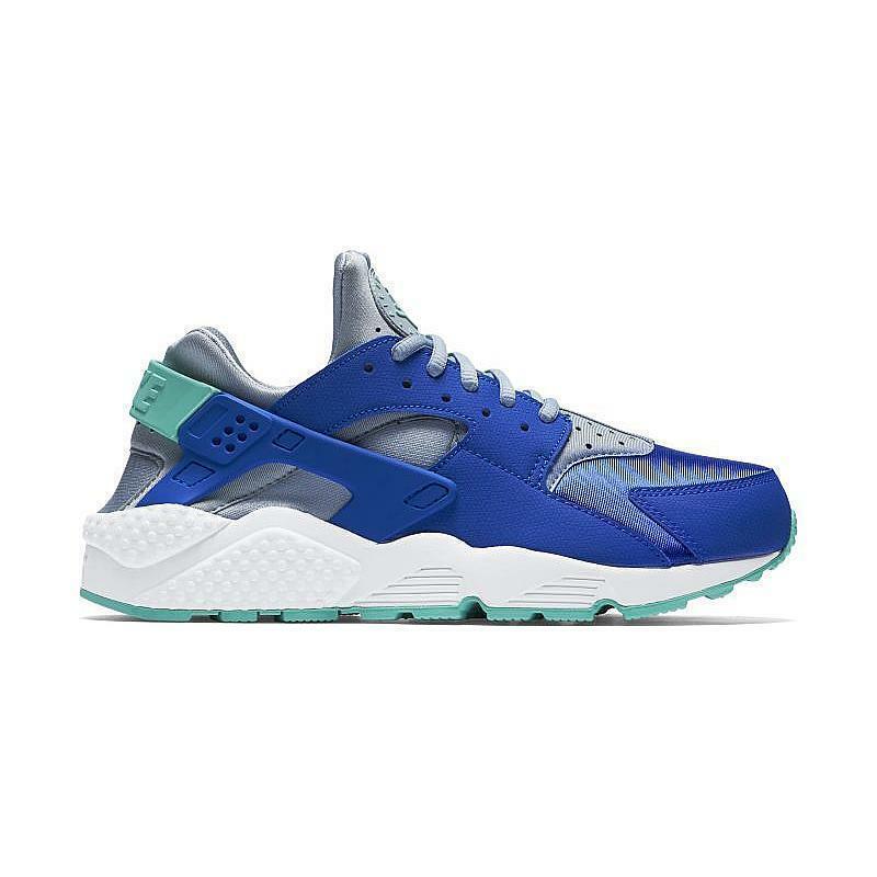 Womens NIKE AIR HUARACHE RUN Racer bluee Trainers 634835 404
