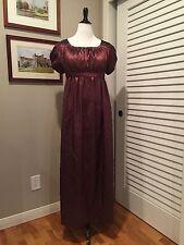 Jane Austen Regency Gown by Iblamejanetoo - Size 10-12