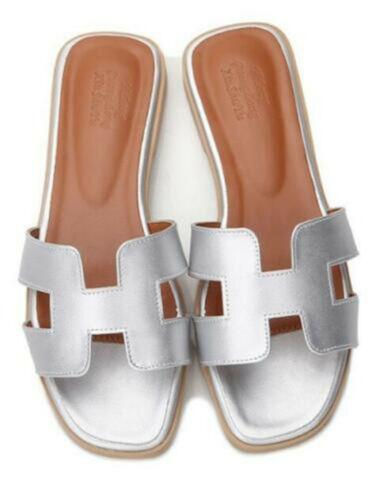 Nouveau Femmes Oran Sandales Plates Pantoufles Femmes Chaussures Sandales 2019