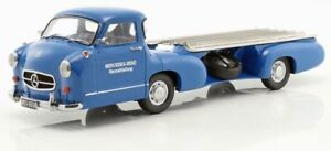 iSCALE-118006-MERCEDES-F1-RACE-TRANSPORTER-1955-model-The-Blue-Wonder-1-18th