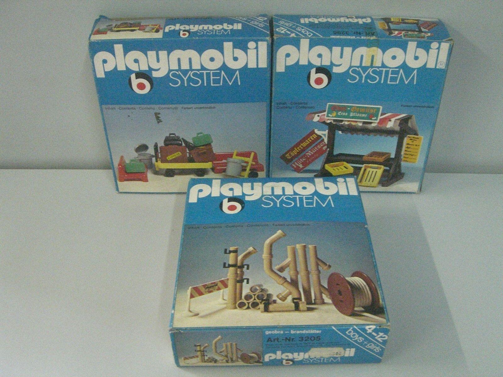 Sistema ploymobil 3 scatore 3205 - 3206 - 3296 anni '70