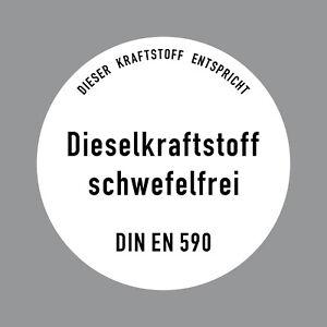 Etiquette-10cm-Sticker-Diesel-sans-Soufre-Din-en-590-Pompe-a-Essence-Tank-Bidon