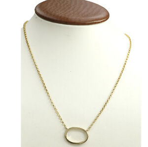 18k yellow gold authentic gucci pendant necklace ebay image is loading 18k yellow gold authentic gucci pendant necklace aloadofball Gallery