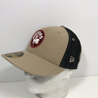 cheaper entire collection reasonably priced New Era Boston Celtics 59Fifty Hat Cap Fitted Size 7–1/8 Hard Wood ...