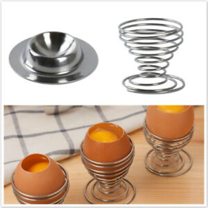 Kitchen-Egg-Cups-Stainless-Steel-Hard-Boiled-Breakfast-Stand-Metal-Holders