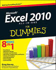 Excel 2010 All-In-One for Dummies (R) by Greg Harvey (Paperback, 2010)