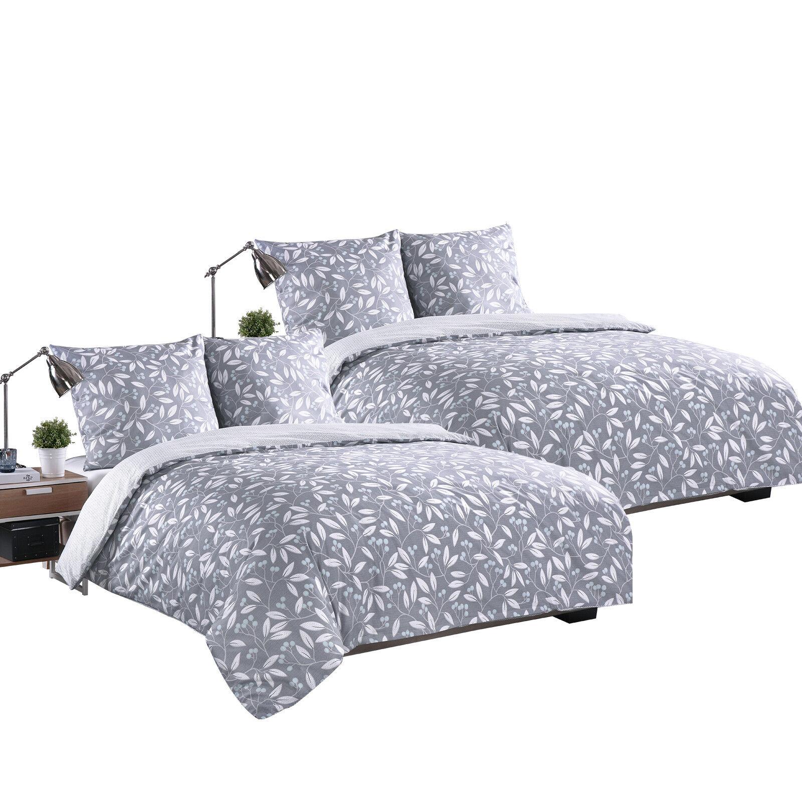 Bettwäsche 200x200 Cm 4teilig Bettbezug Satin Bws02m03 2