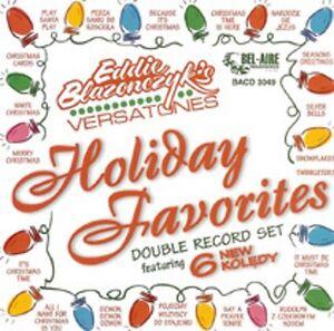 Eddie-Blazonczyk-039-s-Versatones-Holiday-Favorites-New-Christmas-CD-Polka-Classic