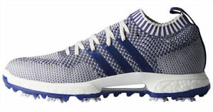 Adidas-Tour-360-Knit-Boost-Golf-Shoes-F33631-Grey-One-Real-Purple-White-New