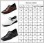 Men Strap Buckle Pointed Toe Slip On Dress Shoes Formal Monk Work Loafers Sizes