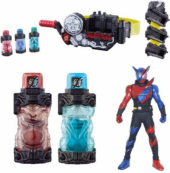 NEW Kamen Rider Build DX Build Driver & Full Bottle Holder & Gorilla Mondo Sets