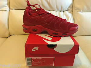 nike air max tn all red