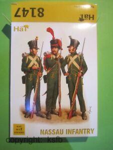 1-72-HaeT-8147-Napoleon-German-Nassau-Infanterie-Soldaten-Grossbox-Figuren-Soldier
