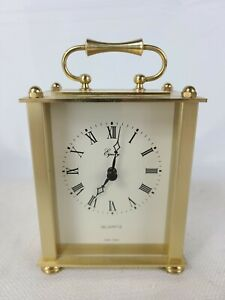 Equity-by-La-Crosse-Brass-Quartz-Analog-Mantel-Table-Desk-Clock