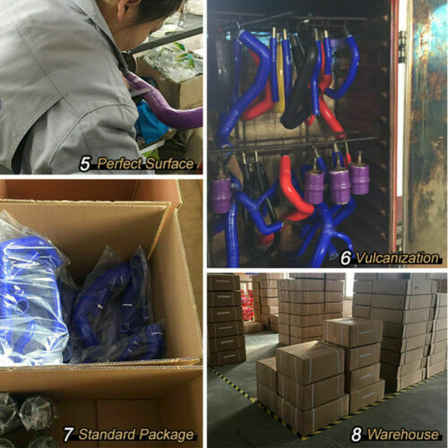 Purple Silicone Radiator Coolant Hose Kit Fit For Scion FRS Subaru GT86 BRZ 2013