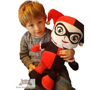 Huge Giant Extra Large Dc Comics Harley Quinn Soft Toy Plush 20