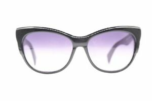 Vintage-Just-Cavalli-JC657S-Black-Oval-Sunglasses-Glasses-NOS