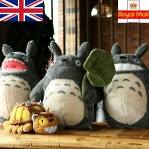 Totoro-Plush-Soft-Toy-38cm-Cat-Bus-28cm-Studio-Ghibli-Anime-My-Neighbour-Gifts