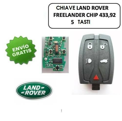 K117-Cover-Chiave-Telecomando-Range-Rover-Land-FREELANDER-2-3